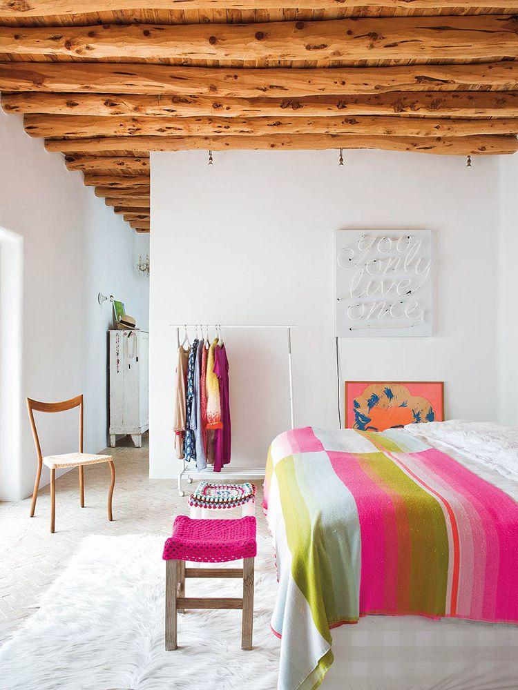 Una colorida casa en Ibiza