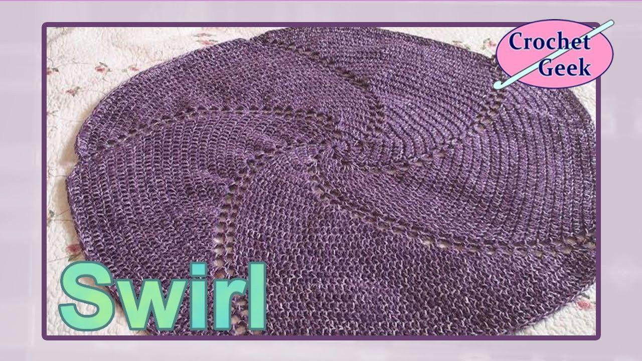 Crochet Swirl Afghan Baby Blanket On Youtube Crochet Geek Crochet