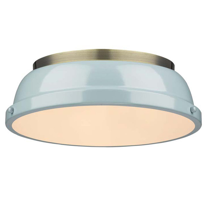 Classic Dome Enameled Ceiling Light in 2020 | Light fixtures