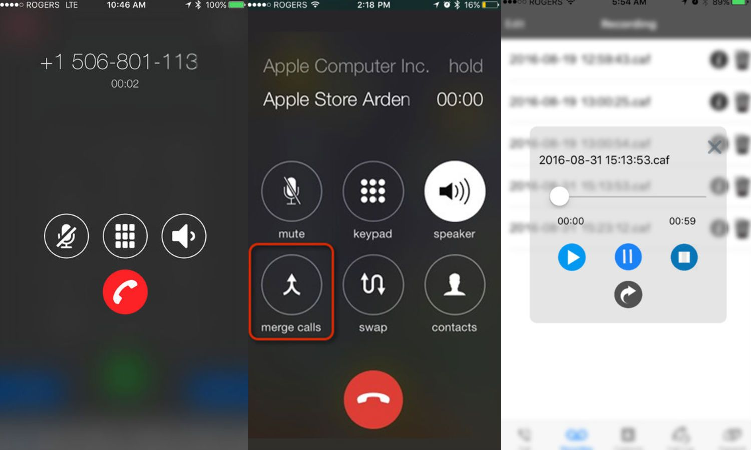 record phone call android