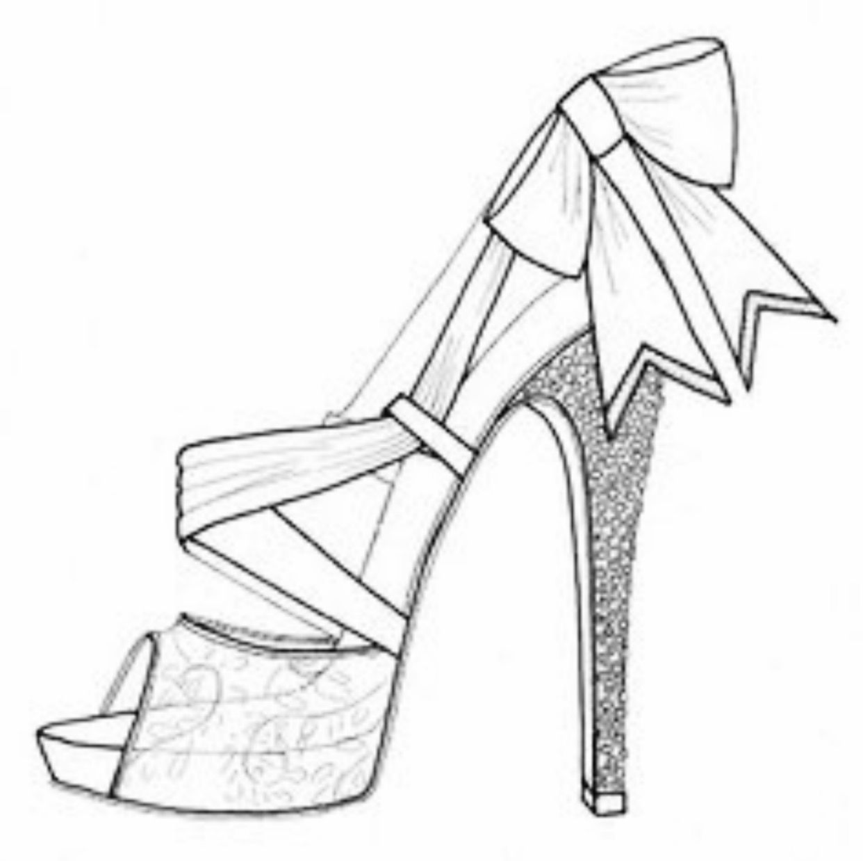 Pin by SoulBearingQuotes on Color My World   Shoe design ...