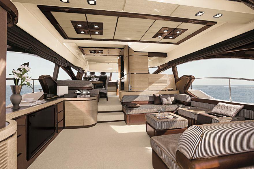 Innenarchitektur Yacht azimut 70 salão azimut 70 flybridge more best