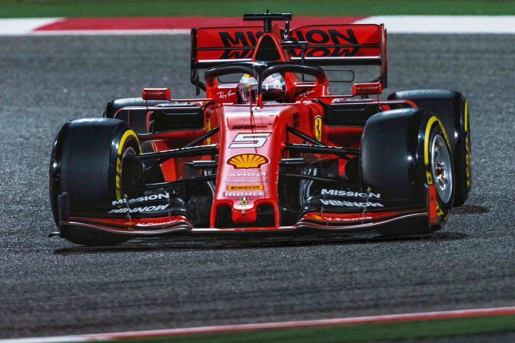 2019 Bahrain Gp Sebastian Vettel Ferrari 4000x2667 F1porn