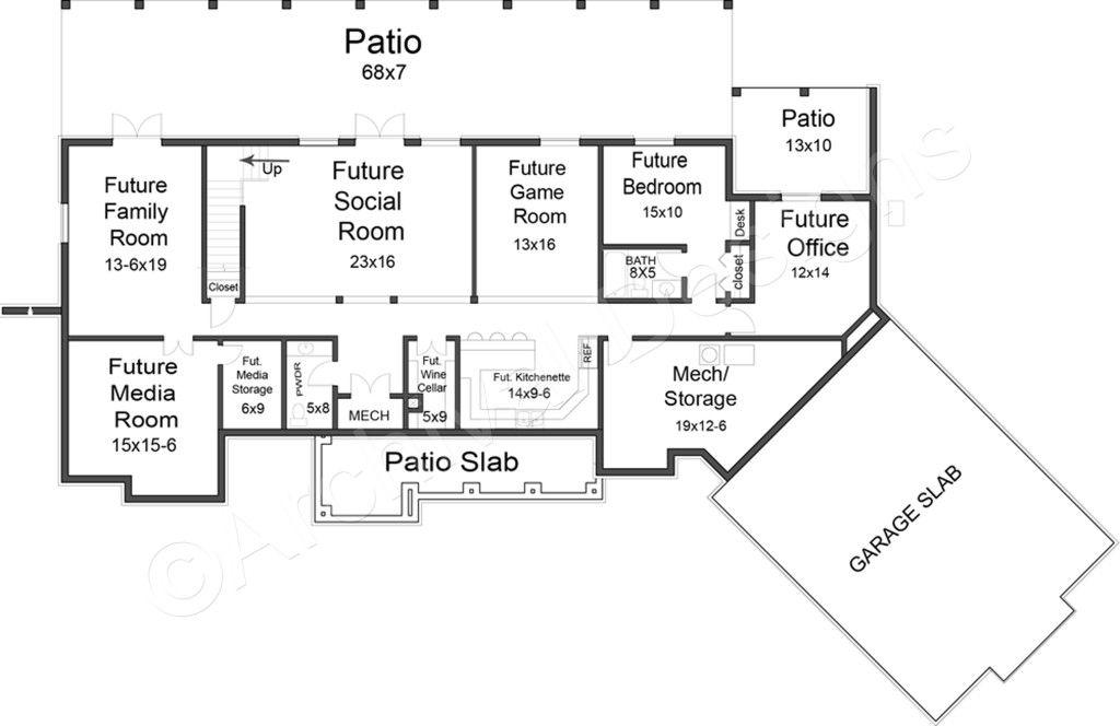tres le fleur | ranch home plans | small luxury house plans | luxury