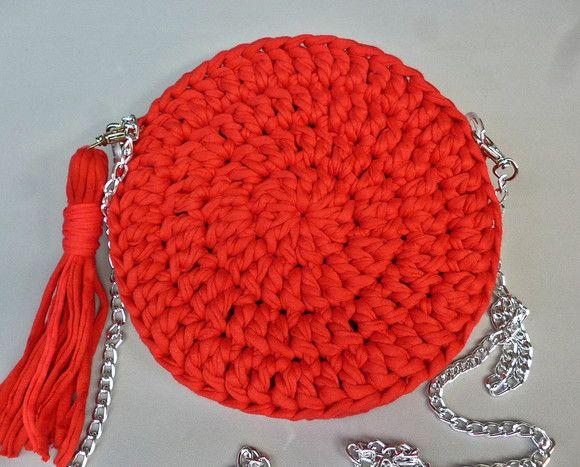Bolsa Redonda em Croche feitas especialmente para você. Mais de 559 Bolsa Redon…