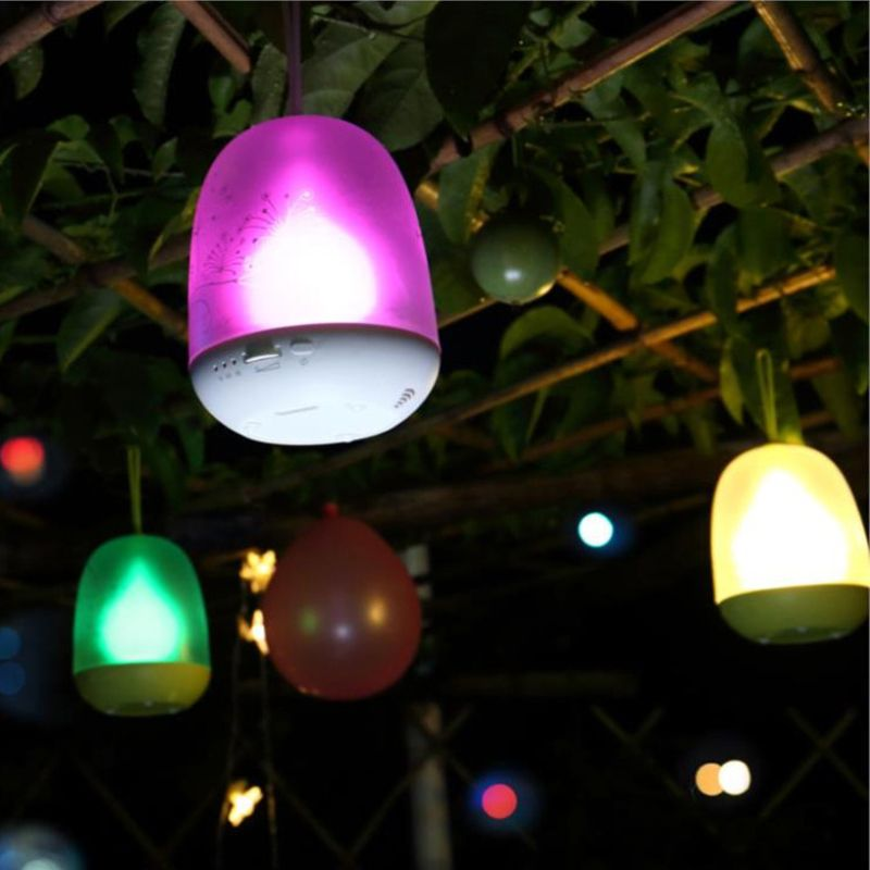Bedroom Hanging LED Timer Lamp Romantic Night Lights Mini Portable Soft  Light Atmosphere Color Changeable Colorful