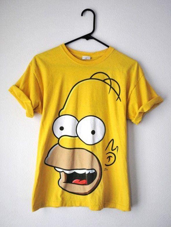 b3184151b  TshirtTuesday   Simpsons  Tshirts  homer  homersimpson