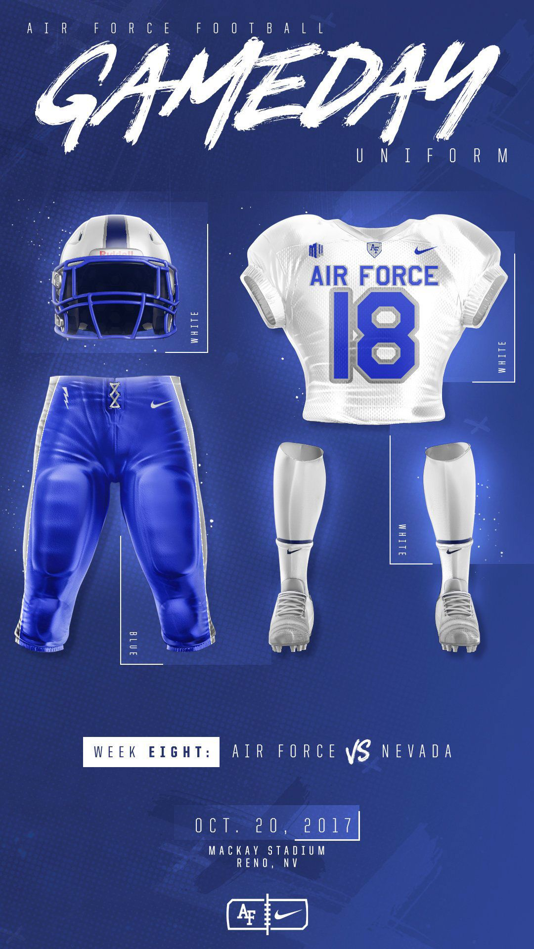 Air Force Football 2017 Uniform Graphics On Behance College