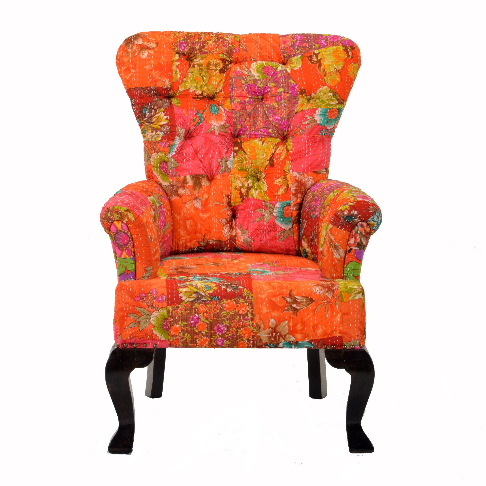Floral Accent Chairs With Arms Furniture Inspiration Accent