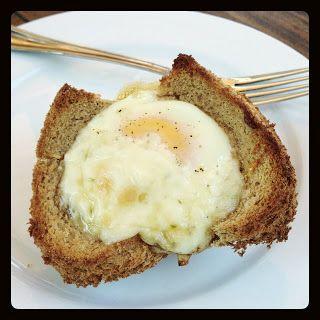 A Girl and Her Fork: Muffin Tin Croque Madame - a Rachel Khoo recipe. Soooo good!