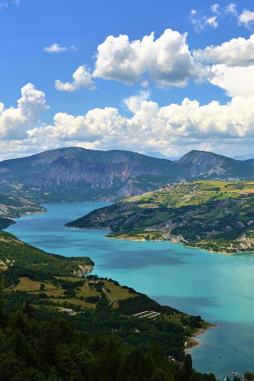 Lac de Castillon, St André les Alpes