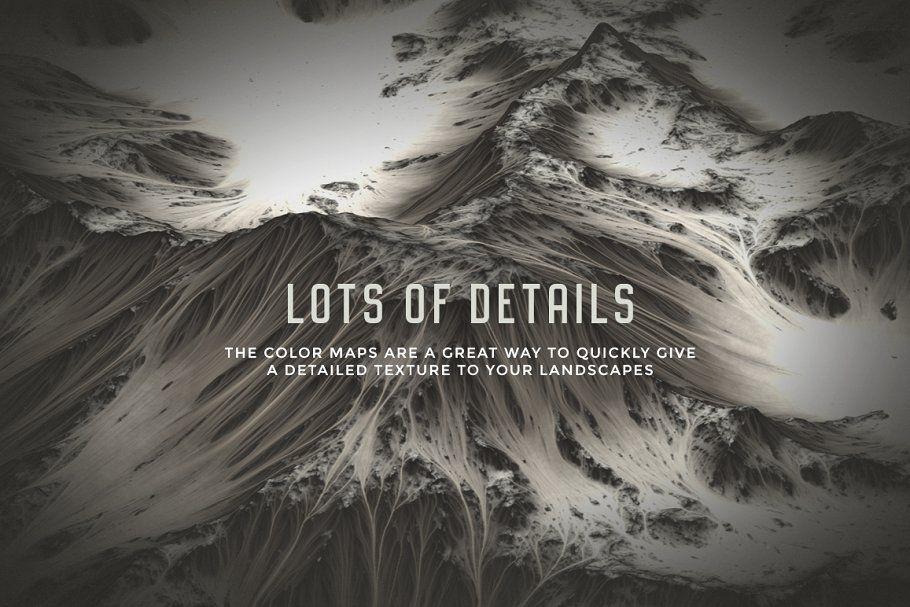 Set of 20 Landscapes maps #Set#Landscapes#Textures#maps