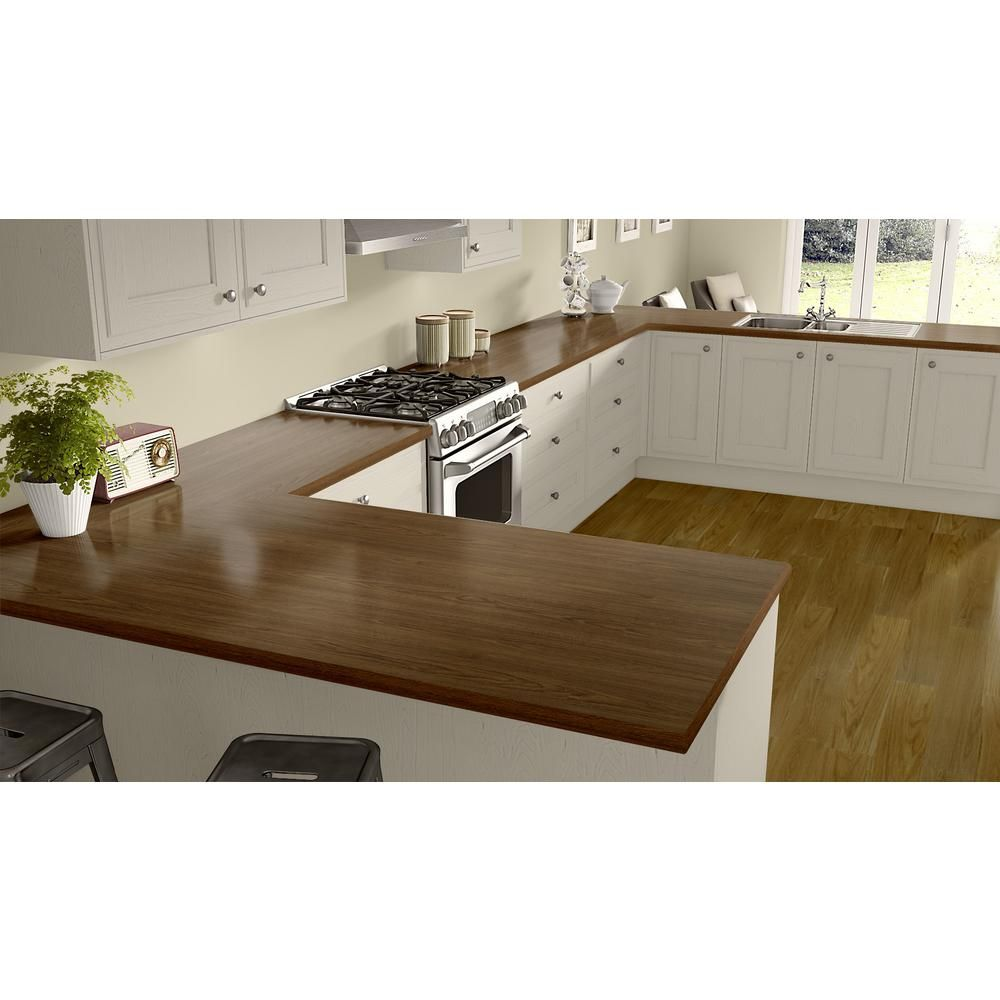 Wilsonart 60 In X 120 In Laminate Sheet In Nepal Teak With Premium Finegrain Finish 7209k7835060120 Laminate Kitchen Kitchen Countertops Laminate Countertops