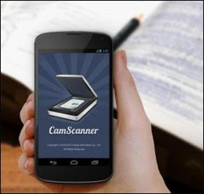 CamScanner turns your smartphone into a document scanner