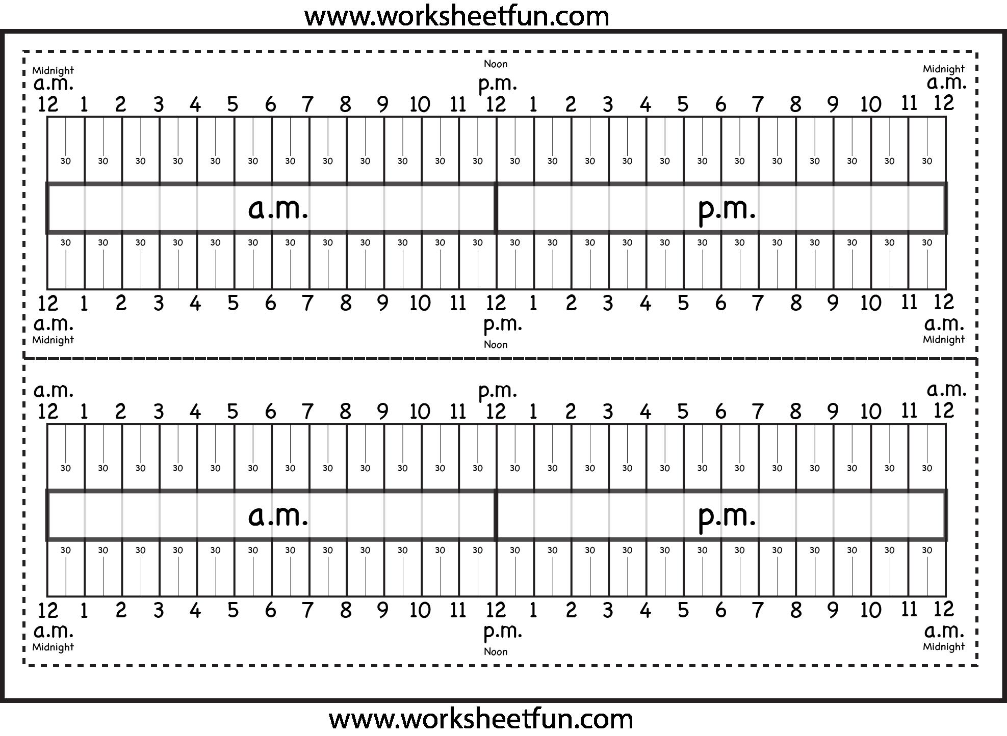 hight resolution of Level 2 – Elapsed Time Ruler – Six Worksheets   Math methods