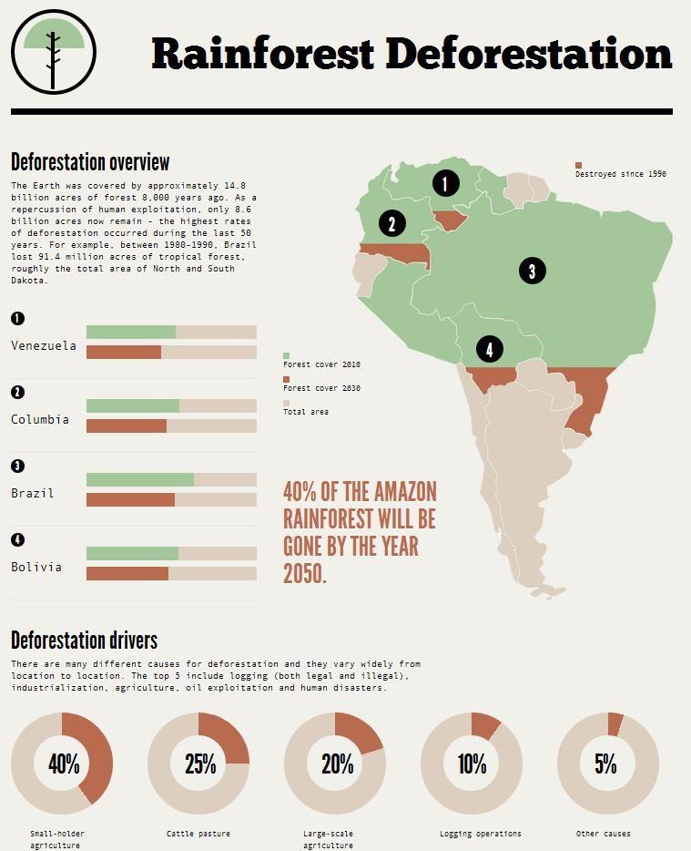 Deforestation With Images Deforestation Rainforest