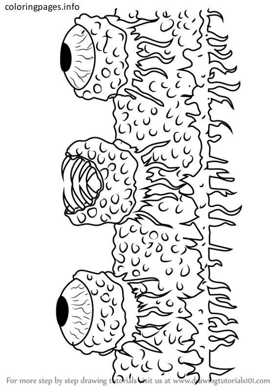 terraria coloring pages terraria wall of flesh coloring pages #terraria wall of flesh  terraria coloring pages