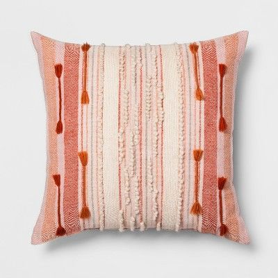 Pink Stripe Oversize Throw Pillow Opalhouse Target With