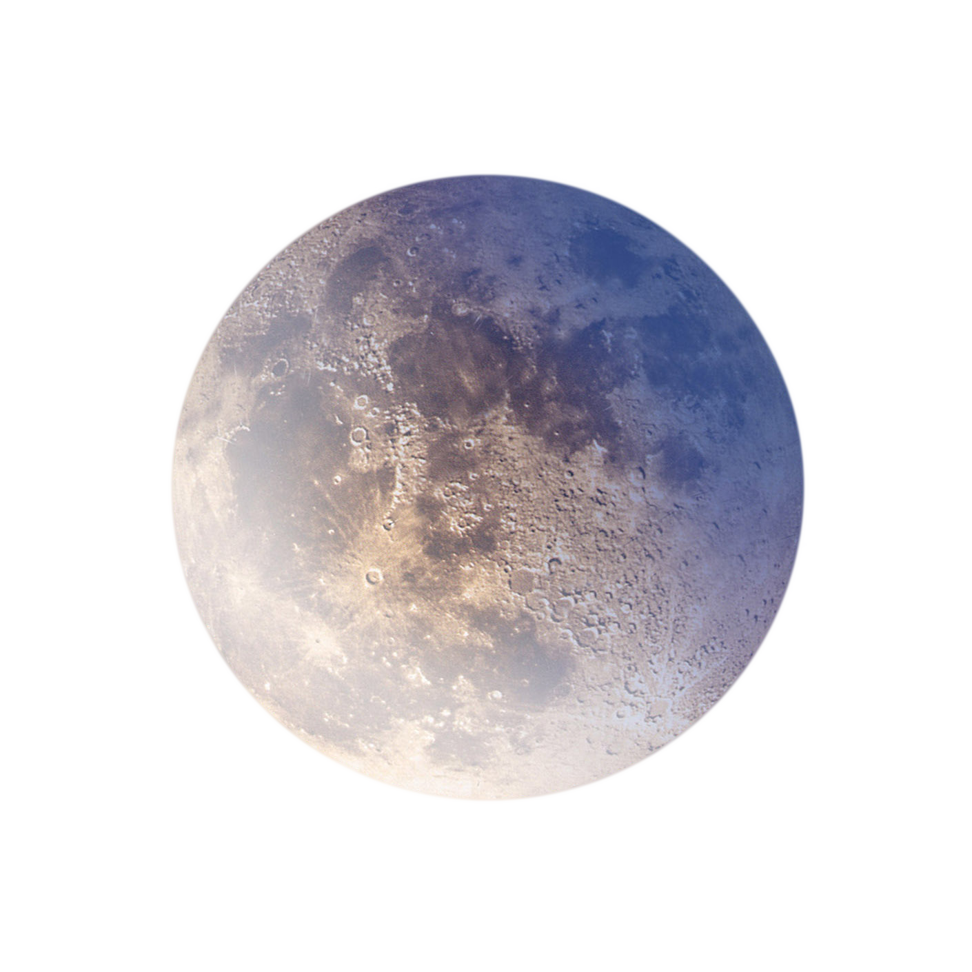 Realistic Moon Png Image Full Blue Moon Elements Of Art Png Images