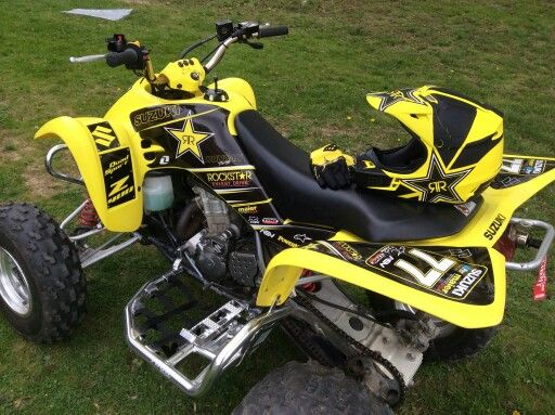 Suzuki LTZ 400 atv graphics kit  Kit by Fireblade Graphics and Signs