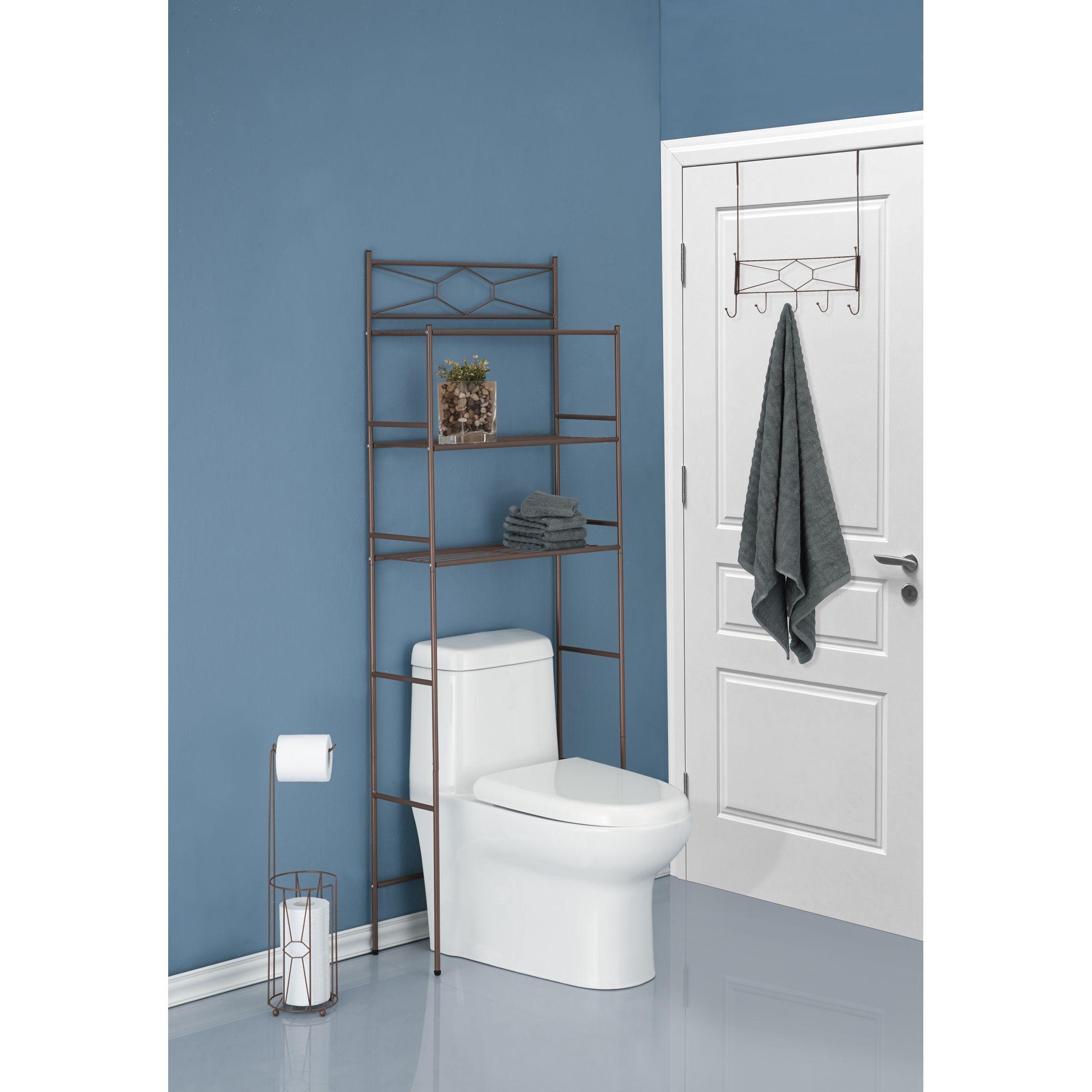 Brands Three Piece Diamond Design Combo Bathroom Storage Kit ...
