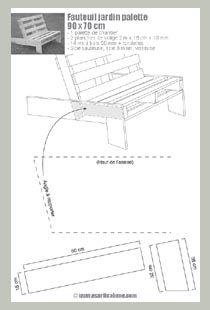 fauteuil de jardin en palette pinterest fiche technique fiches et fauteuils. Black Bedroom Furniture Sets. Home Design Ideas