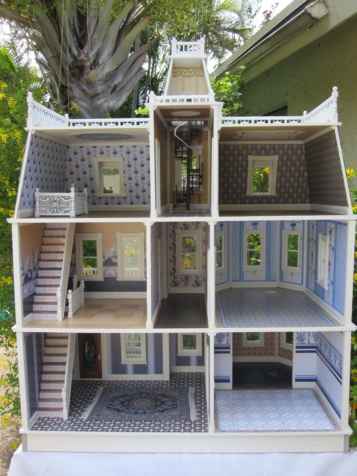 The Key West Island Manor Dollhouse 画像あり ドールハウス