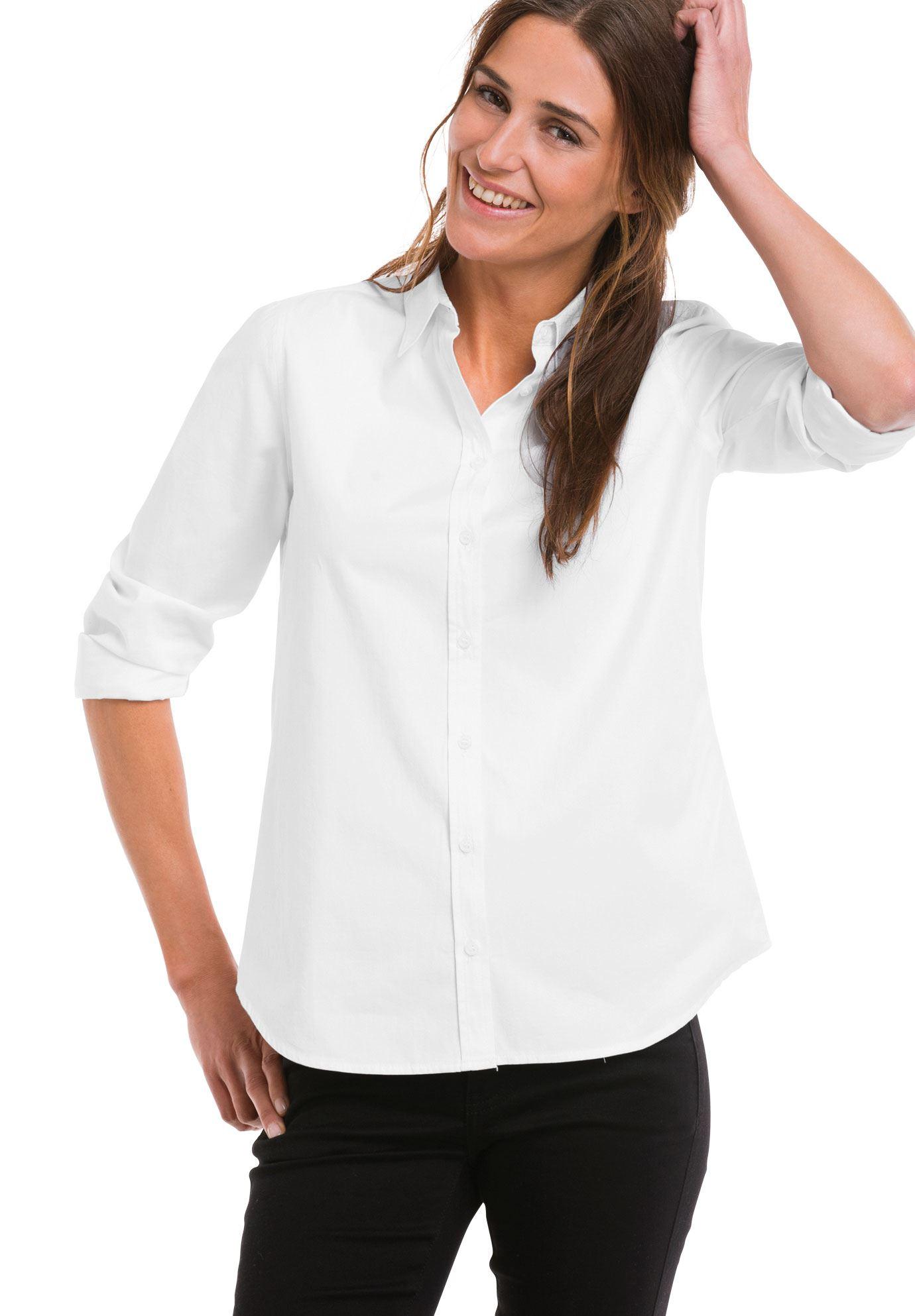 Emma buttondown shirt by ellos womens plus size