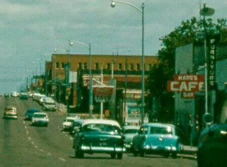 Borger Texas In The 1950 S Main Street My Dad And Uncle Went To