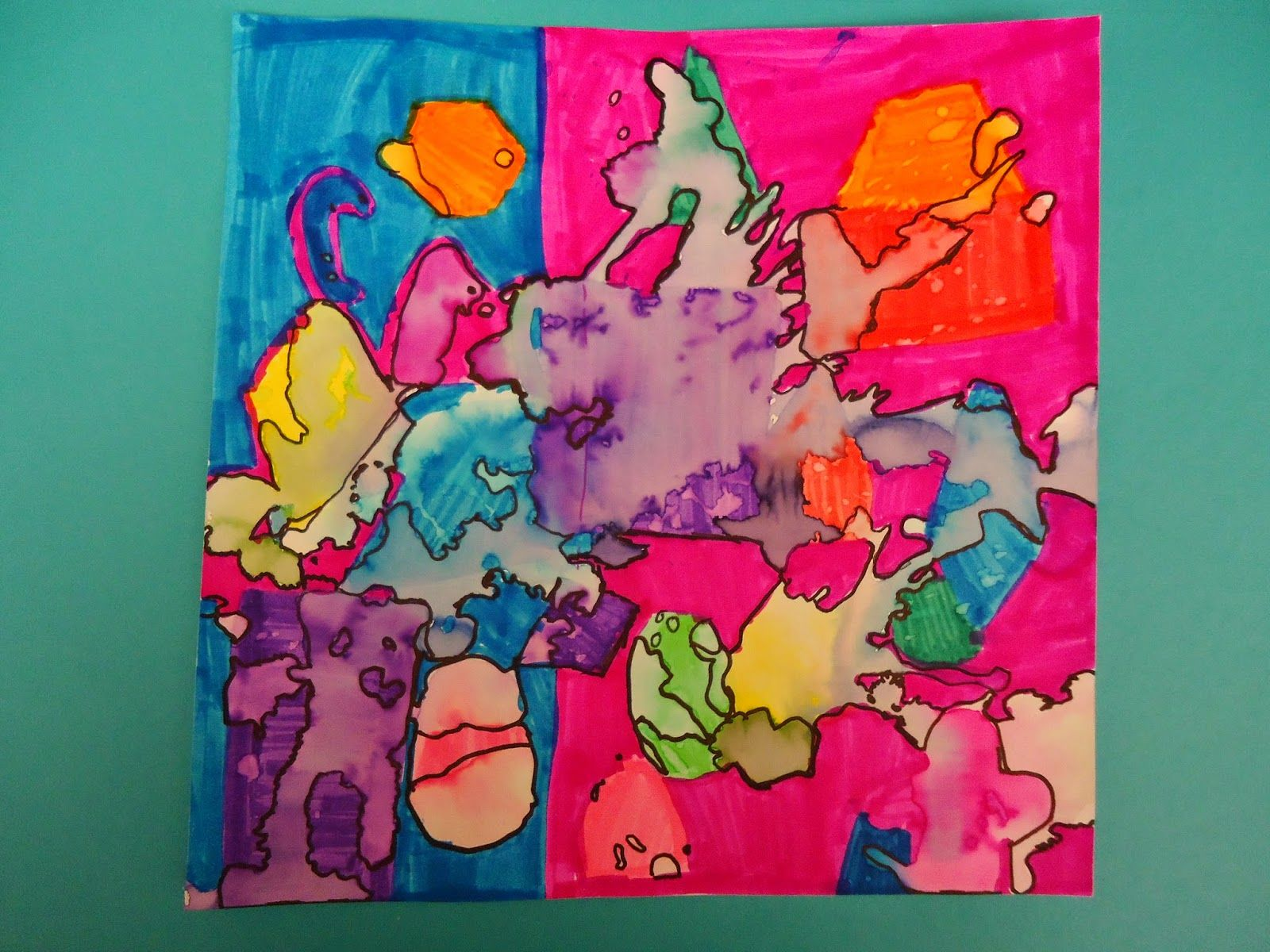 mini matisse free form to geometric shapes it was a quick two day