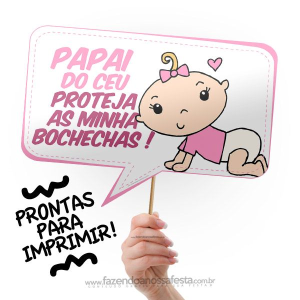 Plaquinhas Para Chá De Bebê Kiddie Party Pinterest Baby Tea E