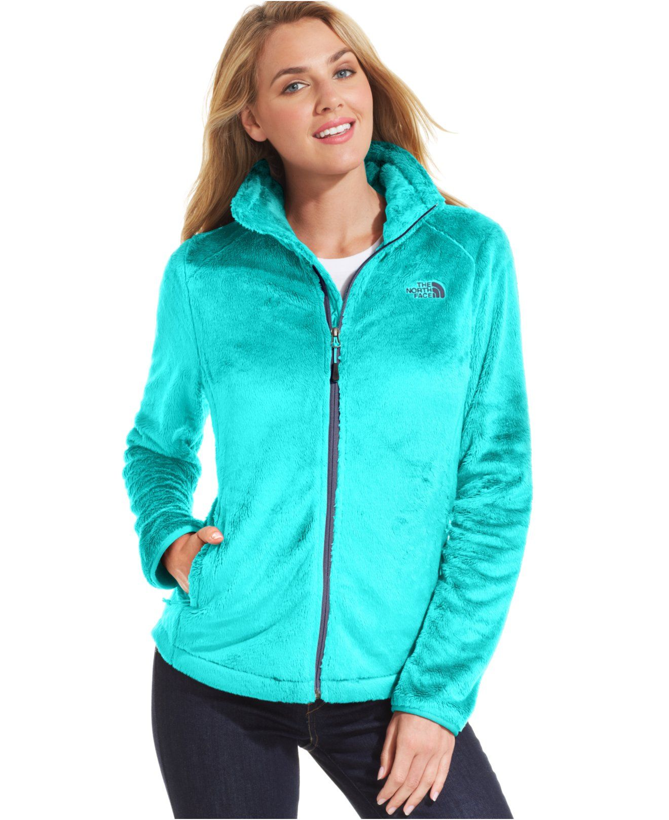 The North Face Osito 2 Fleece Jacket The North Face Jackets Coats Women Macy S North Face Jacket Jackets Blazer Jackets For Women [ 1616 x 1320 Pixel ]