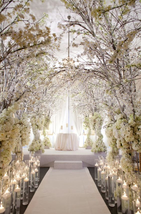 Floral indoor wedding aisle ideas deer pearl flowers httpwww floral indoor wedding aisle ideas deer pearl flowers httpdeerpearlflowerswedding ceremony decorfloral indoor wedding aisle ideas junglespirit Image collections