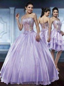 c649f69a5 Vestidos 2 em 1 – Vestidos de 15 Anos   Ball Dresses   Vestido de 15 ...