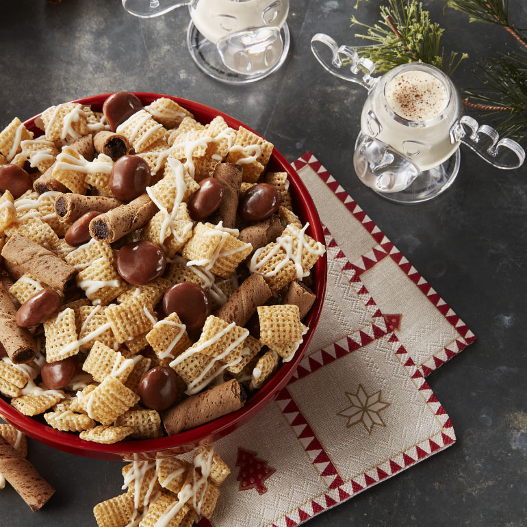Spiked Eggnog Chex™ Mix