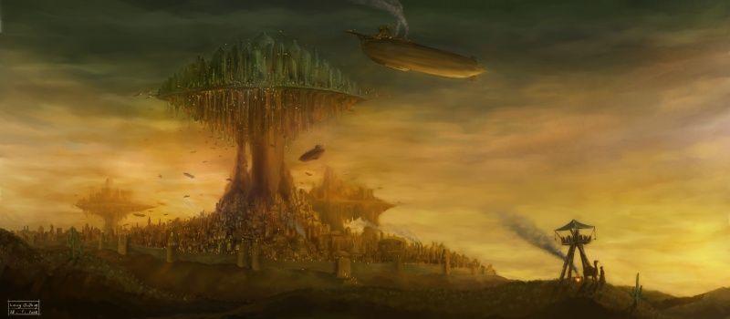 steampunk scenery - Google-søk