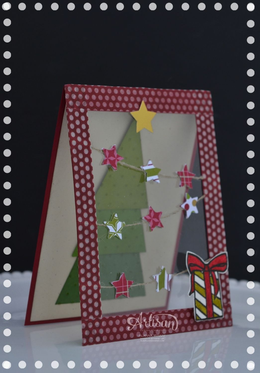 O Christmas Tree with acetate front | Paper Whimsie! | Pinterest ...