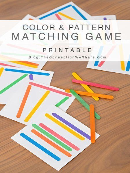 Color and Pattern Matching Game for Kids | Matching games, Gaming ...