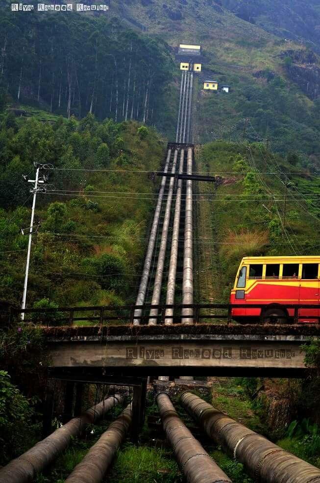 Ksrtc Bus From Pallivasal Munnar Kerala Travel India Travel