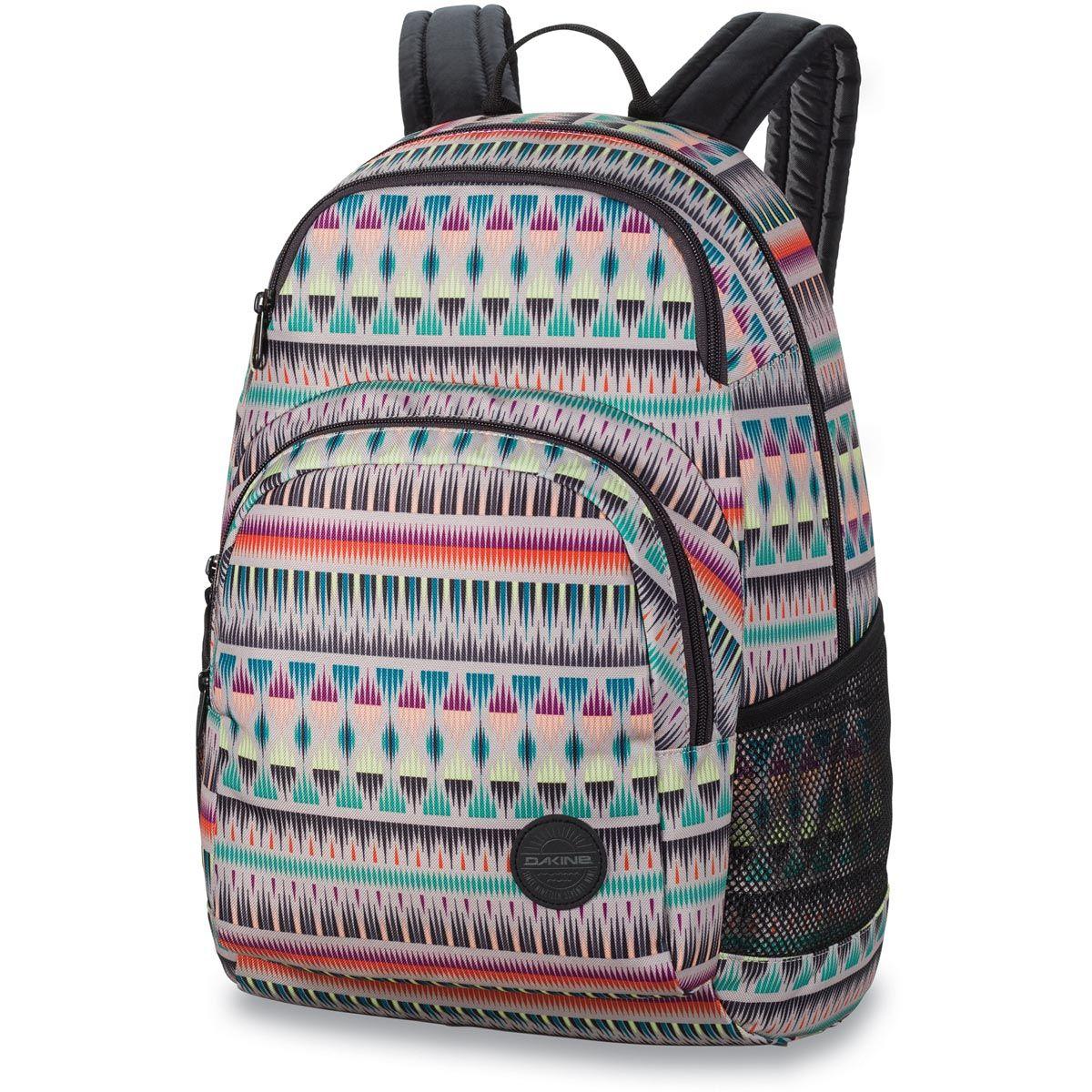 Der Geraumige Dakine Hana 26l Rucksack Ist Ein Praktischer Schulrucksack Fur Madls Der Sich Mit Einem Reissverschluss Ganz Praktisch Offnen Backpacks Bags Fashion