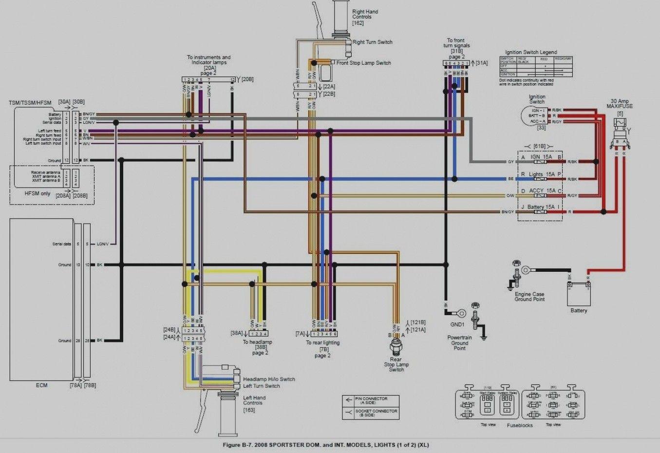 Harley Sportster Wiring Diagram In 2020 Home Electrical Wiring Sportster Diagram