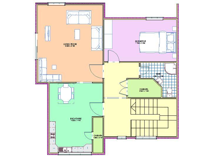 plan informativ parter pentru case moderne PLANS DE MAISONS - des plans des maisons modernes