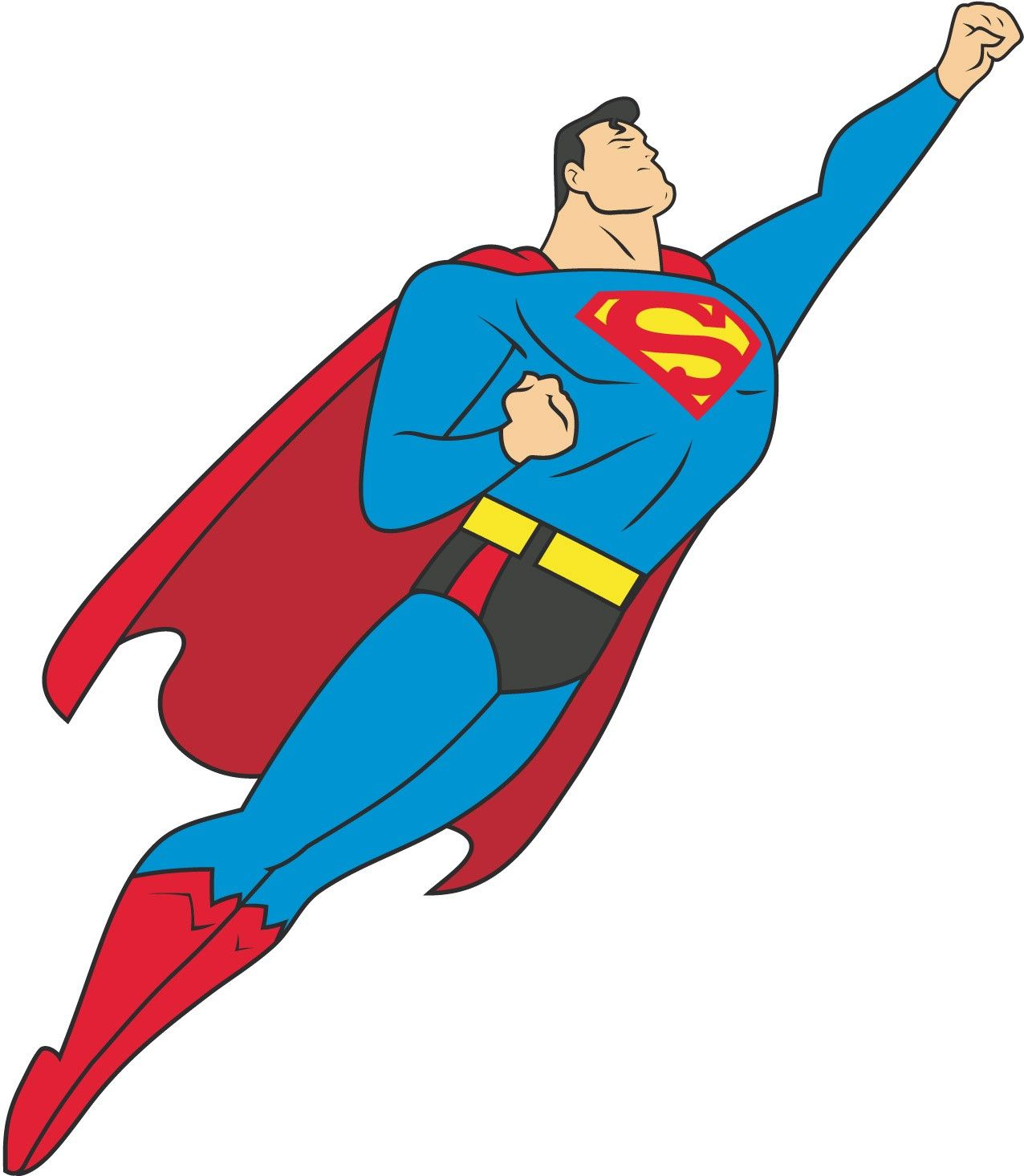 superman clip art wesomeness hero clip art rh pinterest com Justice League Emblem Justice League Drawings
