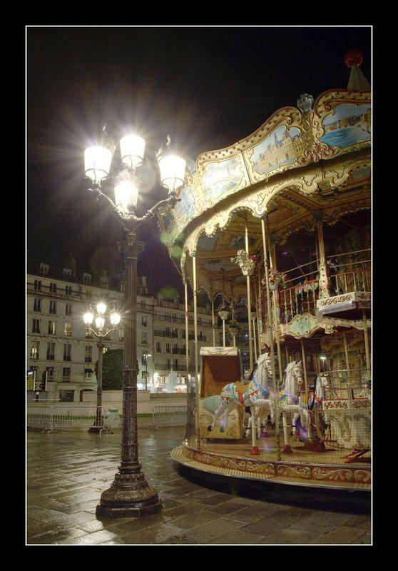 Le Manège de Paris de Roland Letscher