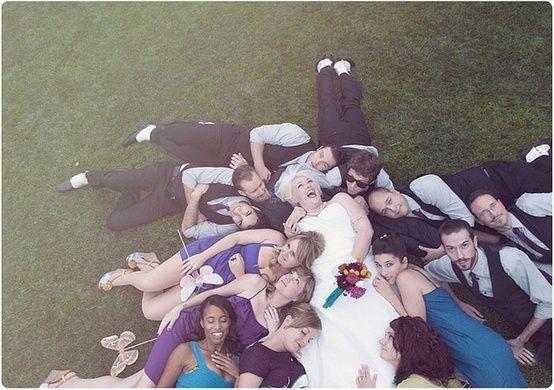 non-blah wedding party poses! | Offbeat Bride