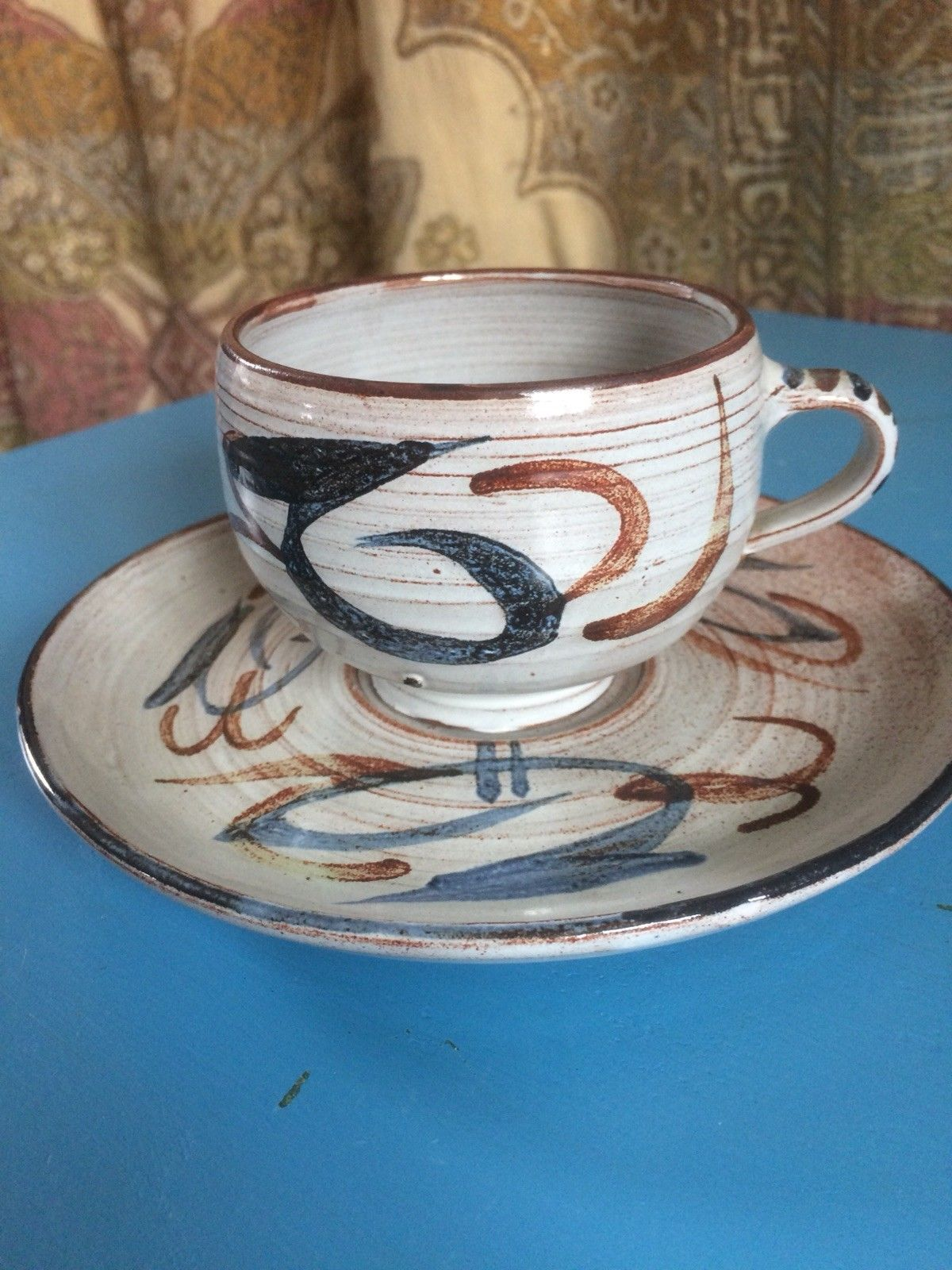 Mary Gibson Horrocks Mgh Mark Pottery Cups Cup And