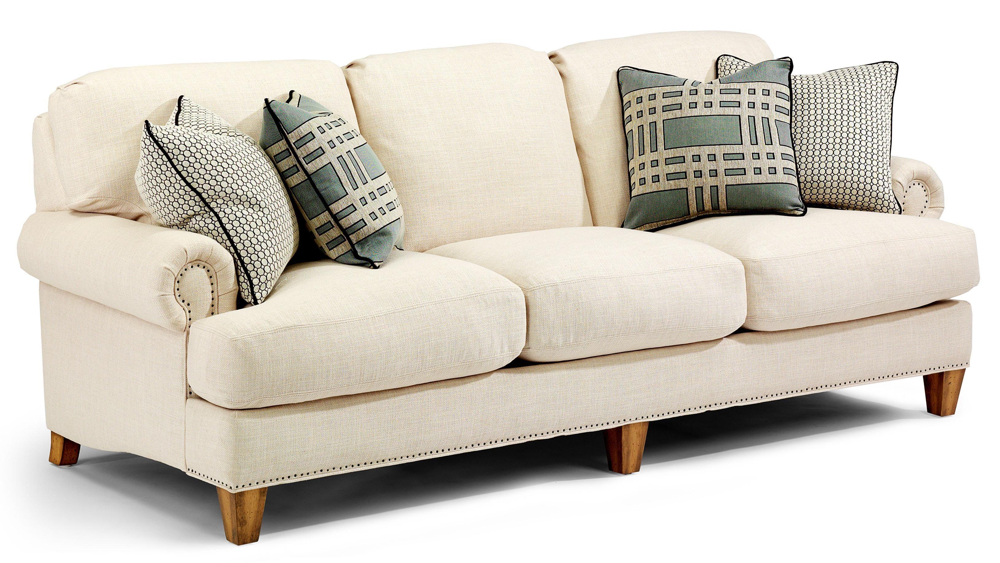 flexsteel bexley sofa bed rental flex steel holly frontroom furnishings