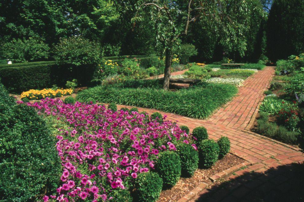 Perfect The Formal Garden Of Ashland, Henry Clayu0027s Estate In Lexington, Ky