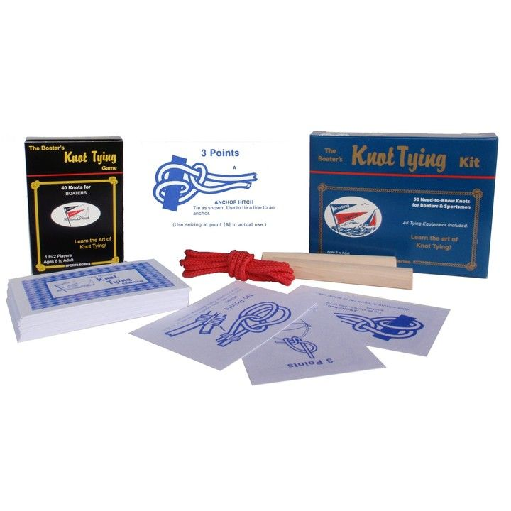 Boater's Knot Tying Kit/Game- Compact Travel Edition from Ramco Games for $6.99