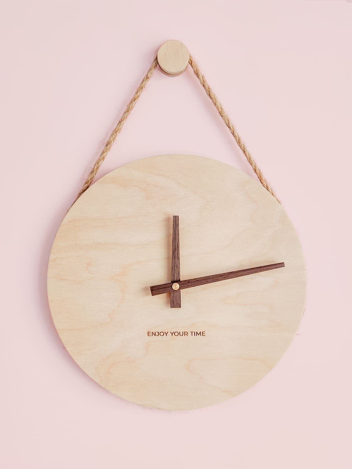 Wooden Wall Clock Simple Beauty Minimalist Wall Clocks Wall Clock Simple Diy Clock Wall